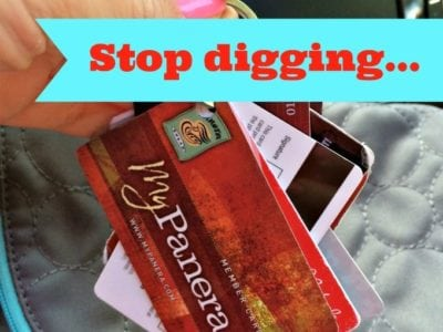 Reward Card Organization! Stop digging in your purse or wallet for them! http://fantabulosity.com