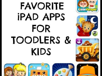 The BEST iPad apps for toddlers and kids