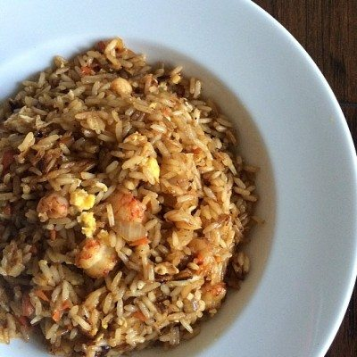 Restaurant Style Fried Rice, easily made at home! http://fantabulosity.com