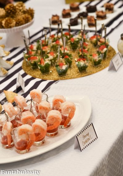 Favorite Things Party Ideas=Cocktail Party Menu Ideas http://fantabulosity.com