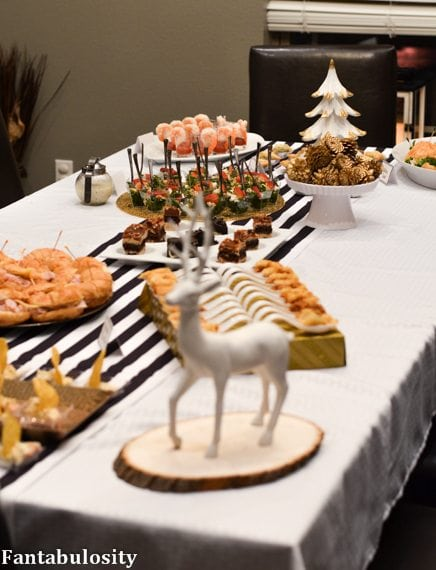Favorite Things Party Ideas-Cocktail Party Menu http://fantabulosity.com