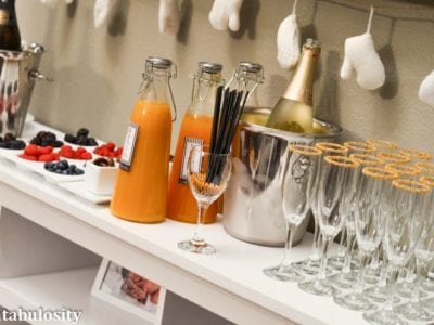 Favorite Things Party Ideas-Champagne Bar Ideas https://fantabulosity.com