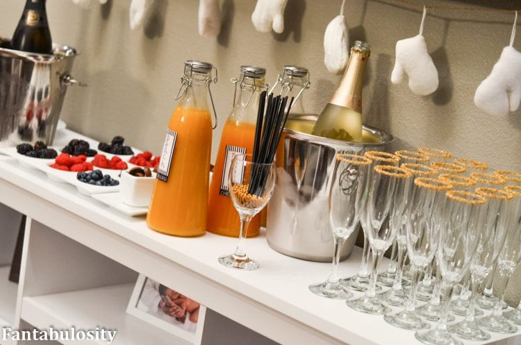 Favorite Things Party Ideas-Champagne Bar Ideas http://fantabulosity.com