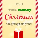 How I made money Christmas shopping this year! ===> http://fantabulosity.com