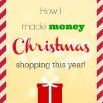 How I MADE Money, Christmas Shopping!