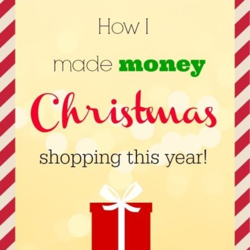 How I made money Christmas shopping this year! ===> https://fantabulosity.com