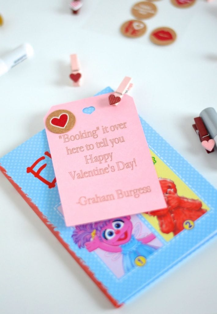 "Classroom Valentines--""Booked"" it over Here to Tell You..."