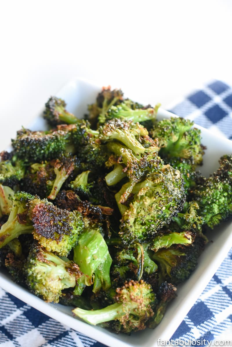 This was so easy, and GOOD! I don't even like broccoli that much! Healthy Side Dish Recipe