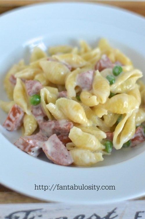 This was SO good and quick! Polish Sausage Pasta Recipe