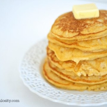 5 Minute Butternut Squash Pancakes http://fantabulosiity.com