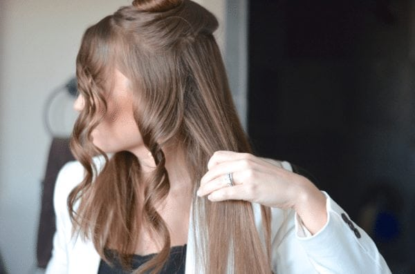 Curls are forming - how to getbeach waves fantabulosity.com