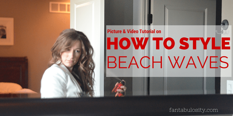7 Easy Steps on How I Style Beach Waves in my Hair