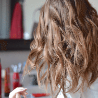 How to Easily Style Beach Waves - how to style beach waves fantabulosity.com