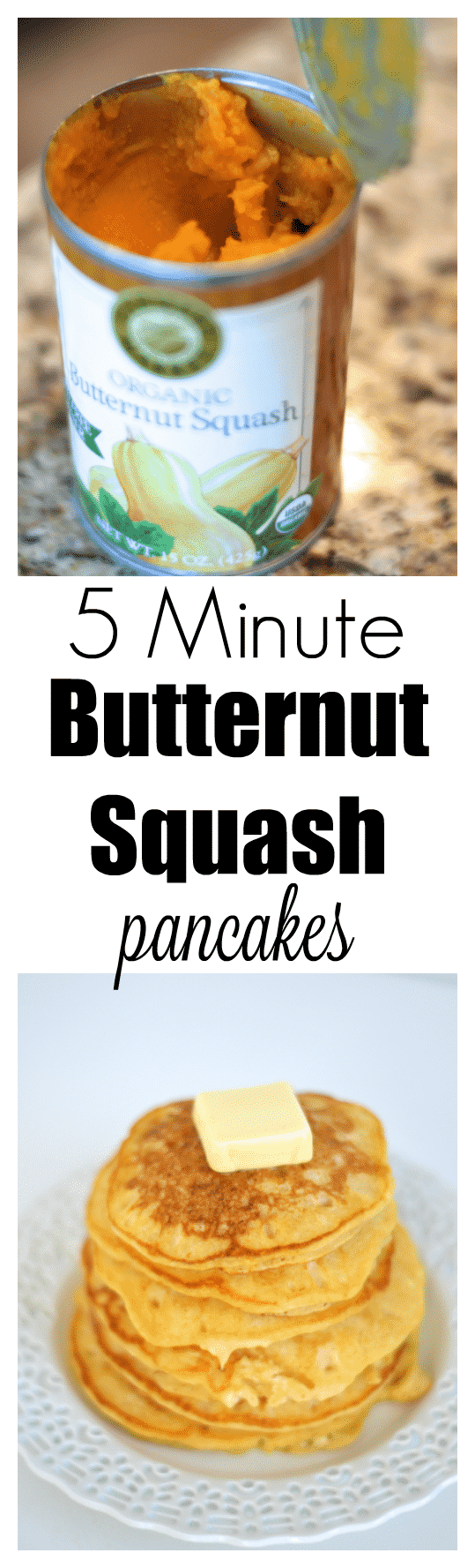 Mmm!!!! These were SO good! Who knew this would be that good! I love sneaking healthy in to my kids pancakes too! Butternut Squash Pancakes Recipe
