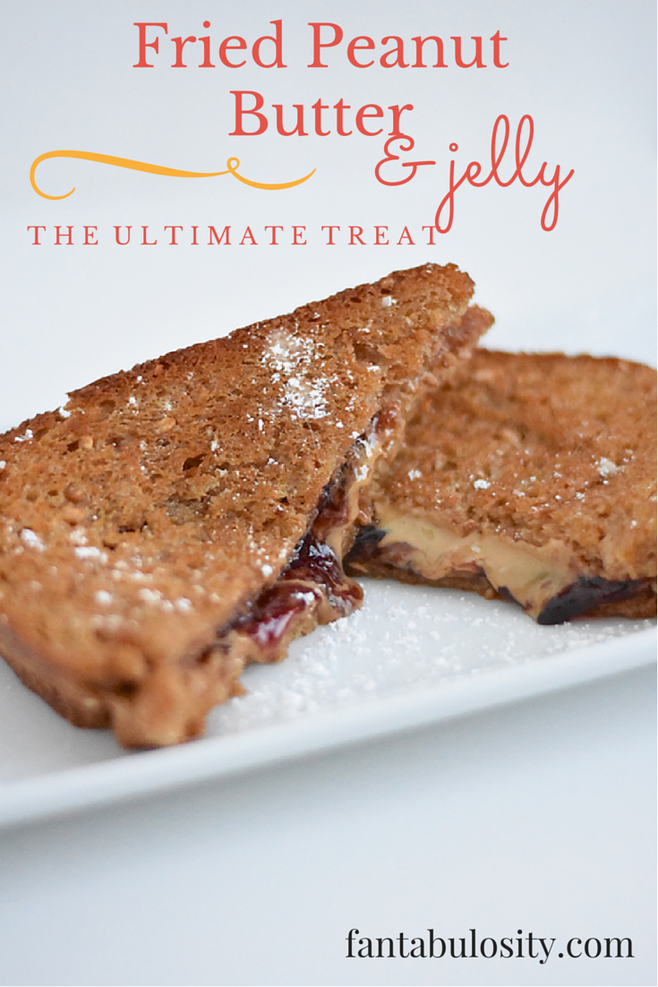 Fried Peanut Butter and Jelly. Whaaat!? This looks ah-mazing! https://fantabulosity.com