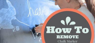 How To Remove Chalk Marker from a Chalkboard http://fantabulosity.com