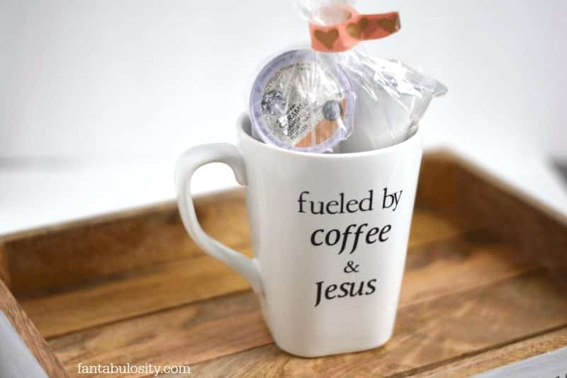 Fueled by coffee & Jesus Mug. This is sooo cute! https://fantabulosity.com