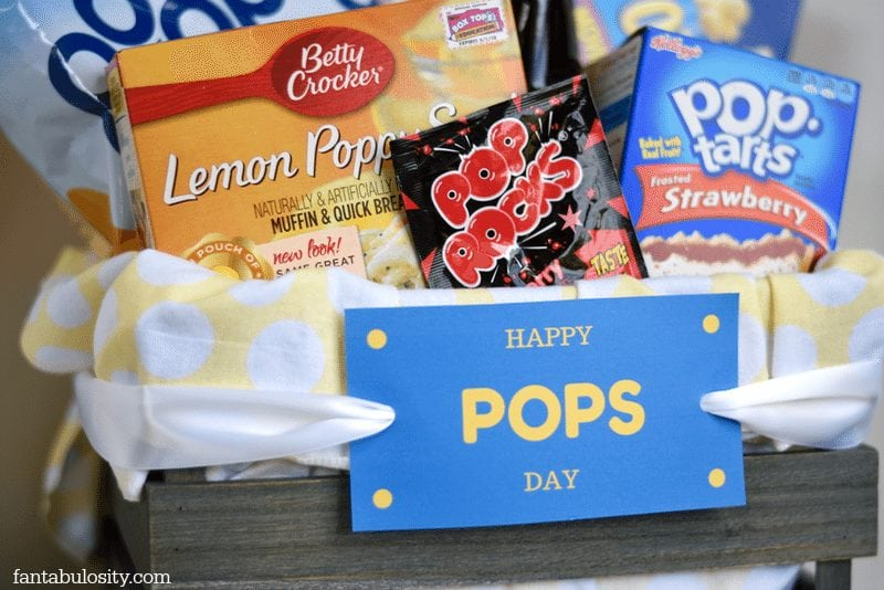 Happy Pops Day! Father's Day Gift Idea! https://fantabulosity.com