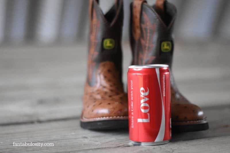Share a Coke, Cowboy Boots