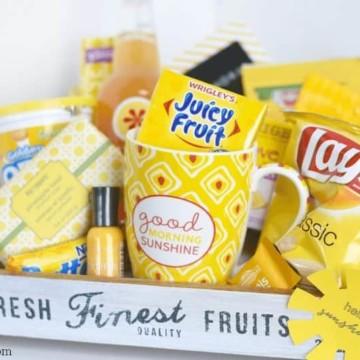 Sunshine Gift Basket Ideas https://fantabulosity.com