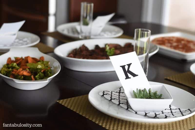 Weeknight Dinner Party fantabulosity.com