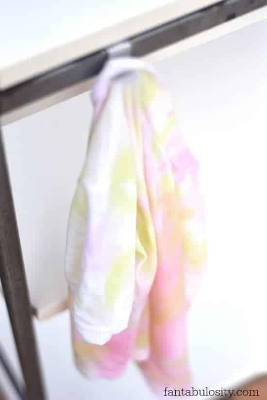 DIY Candy Tie-Dye Shirts