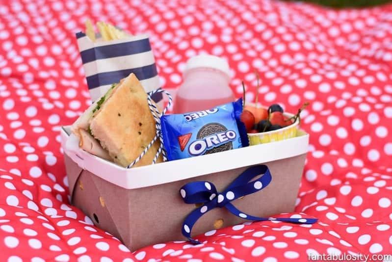 DIY Picnic Boxed Lunch Idea https://fantabulosity.com