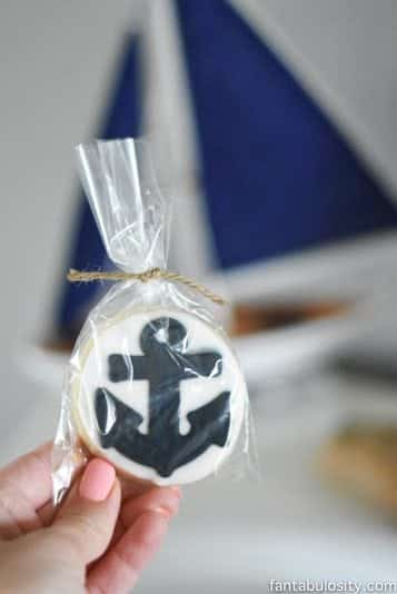 Nautical Cookies for baby shower, birthday party, favors, etc! So cute! https://fantabulosity.com