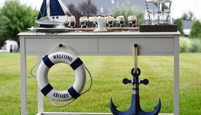 Nautical Birthday Party – AHOY MATE!