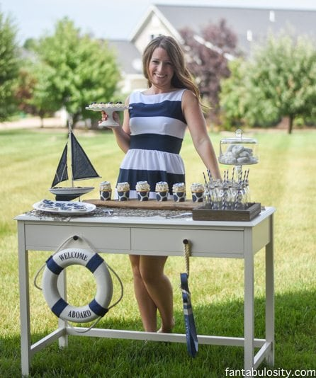 Nautical Birthday Party Ideas! Party Planning Services! http://fantabulosity.com