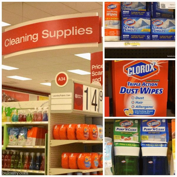 Target is my favorite place to get cleaning supplies!