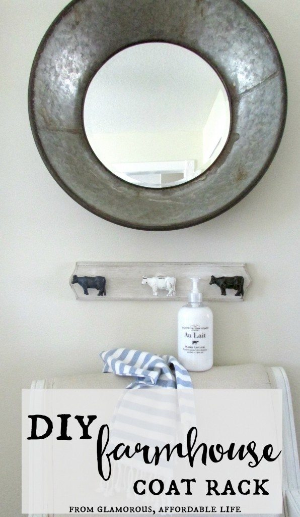 DIY Coatrack or Towel Holder https://fantabulosity.com