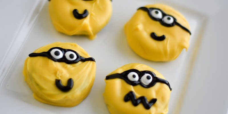 Minion Cookies DIY