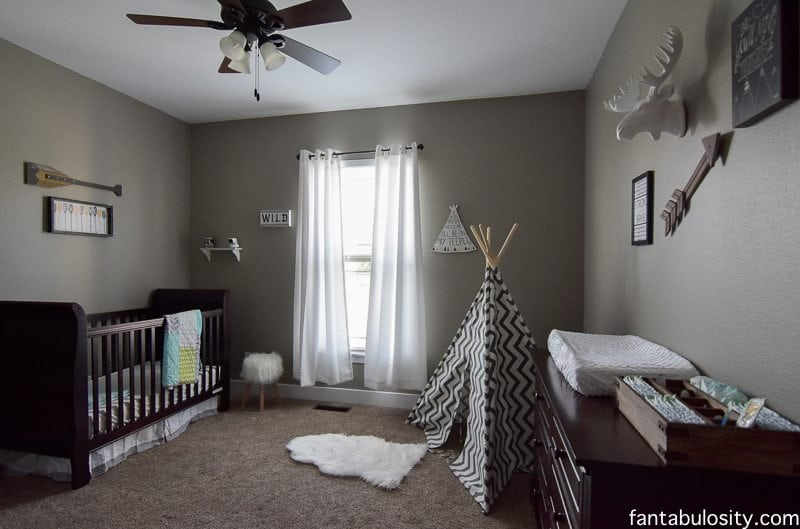 Home Tour Part 13- The NEW Nursery https://fantabulosity.com