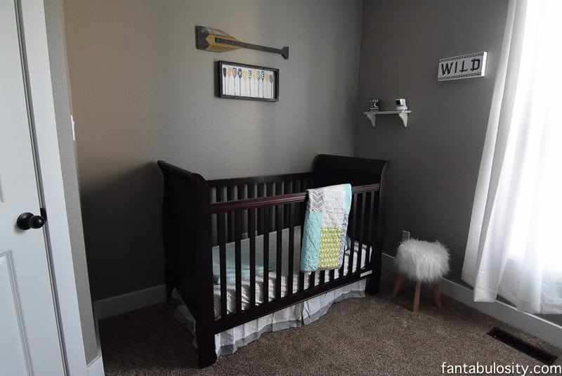 Home Tour Part 13- Nursery Decor Boy https://fantabulosity.com