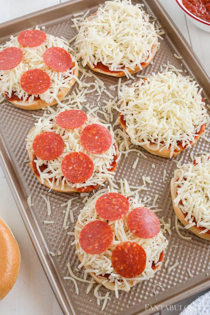 Pepperoni Bagel Pizza Recipe
