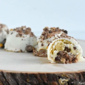 cake batter candy truffles