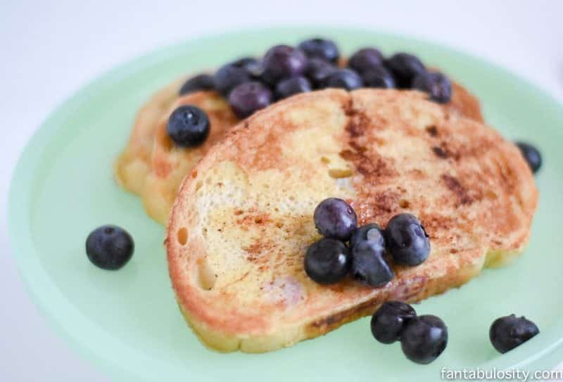 Quick French Toast Recipe! This little trick shaved tons of time off for me! https://fantabulosity.com