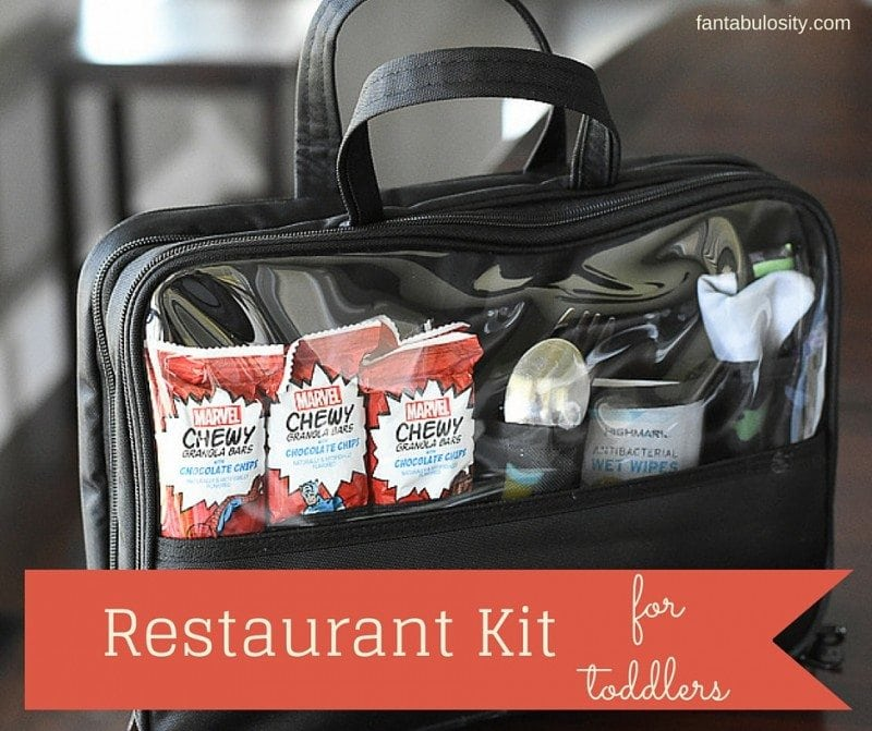 Restaurant Kit - Toddler Busy Bag Ideas! https://fantabulosity.com