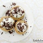 Cookie Cups With Homemade Whipped Cream