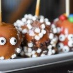 Halloween Activity for Kids: Candy Apple Decorating