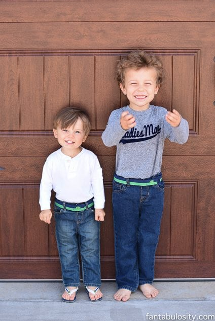These belts are sooo cute, and my kids can actually fasten them, themselves! Myself Belts https://fantabulosity.com