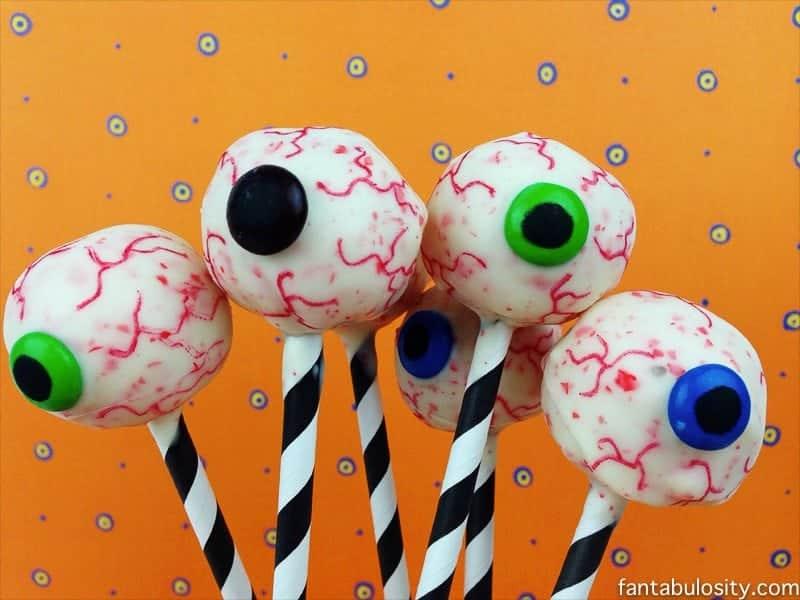 Eyeball Pops for Halloween