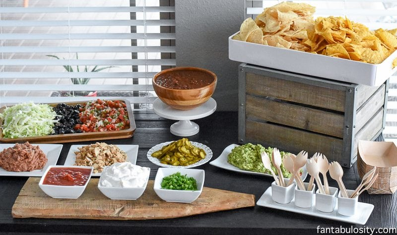 Nacho Bar Party Ideas