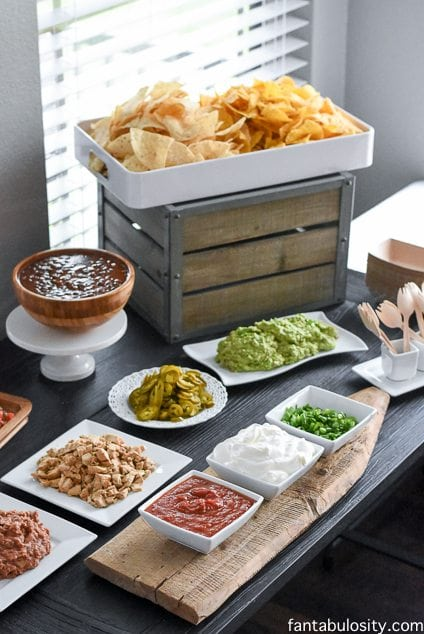 Nacho bar ideas it 39 s nacho birthday it 39 s mine party for Food bar cantina rijeka
