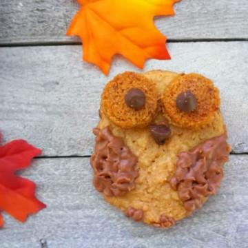 Peanut Butter Owl Cookies https://fantabulosity.com