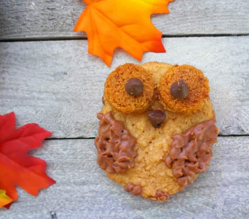 Peanut Butter Owl Cookies https://fantabulosity.com