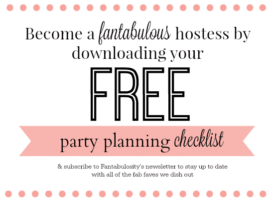 Party Planning Checklist - Free Download Fantabulosity