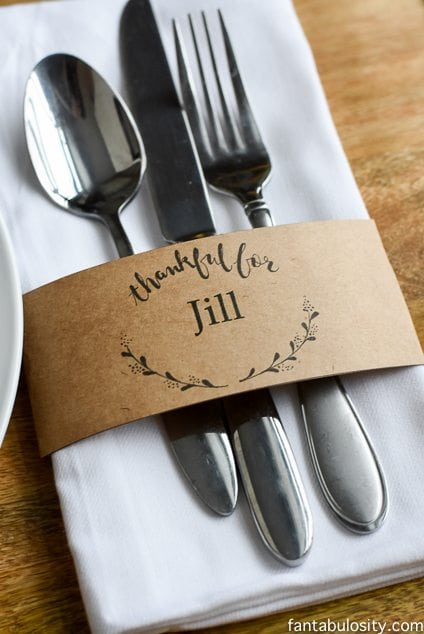 free printable place cards  u0026 customizable download for names