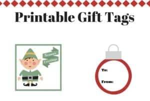 Printable Gift Tags for Kids